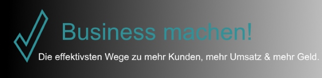 Business machen!